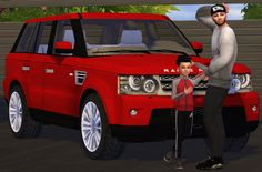 Sims 4 CC's - The Best: Fresh-Prince 2011 Range Rover Sport Conversion by ...