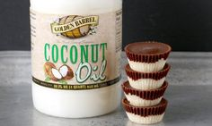 **MAKE FOR CHRISTMAS** These Paleo Peppermint Patties are easy to make and are the perfect healthy treat. Gluten free, dairy free, and so delicious! Made with Golden Barrel Coconut Oil. Paleo Dessert, Healthy Desserts, Raw Desserts, Healthy Food, Dessert Recipes, Healthy Eating, Gluten Free Baking, Gluten Free Desserts, Allergy Free Recipes