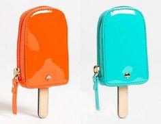 kate spade coins purse orange older blue younger