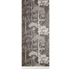 Wallpaper Display, Paper Wallpaper, Kids Wallpaper, Wallpaper Samples, Animal Wallpaper, Wallpaper Roll, Tree Wallpaper Brown, Katie Scott, Flower Artists