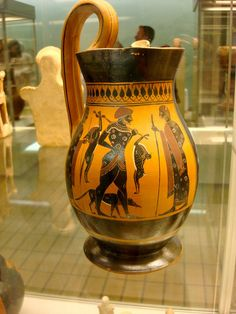 Greek pottery, via Flickr.