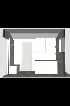 Mud room Elevation 1