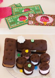 """SWEET Ice Cream Party {Birthday """"A La Mode""""} - Great idea for a dual bday party"""