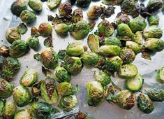 Think you don& like Brussels sprouts? Try roasting them. It brings out the nutty sweetness of the Brussels sprouts. They are perfectly complemented by the tangy and sweet balsamic-maple glaze, which makes this dish oh so delicious! Sprout Recipes, Veggie Recipes, Healthy Recipes, Healthy Meals, Cooking Recipes, Maple Balsamic, Balsamic Glaze, Vegan Side Dishes, Vegetable Casserole
