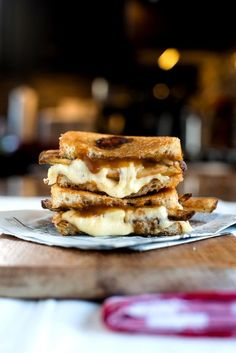 Poutine Grilled Cheese.