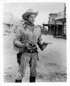 """Guy Madison """"Wild Bill Hickok"""" a fringe cowboy star Hollywood Stars, Classic Hollywood, Old Hollywood, Guy Madison, Old Western Movies, The Lone Ranger, Tv Westerns, Old Movie Stars, Old Shows"""