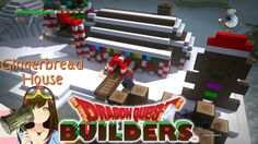 ragon Quest Builders - Gingerbread House Free Build Mode