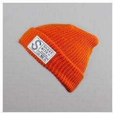 Snake Bite beanie knit cap (orange)