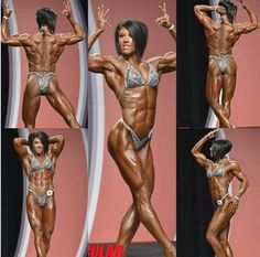 DLB. THE example of hard work and dedication. She definitely deserved her new title as first ever Women's Physique Olympian.