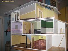 como hacer una casa de muñecas - Buscar con Google
