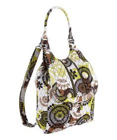 Vera Bradley Cocoa Moss Backpack Tote