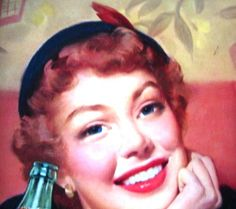 1950s Vintage Coca Cola Tin Tray THIRST knows no by ChinaGalore, $40.00