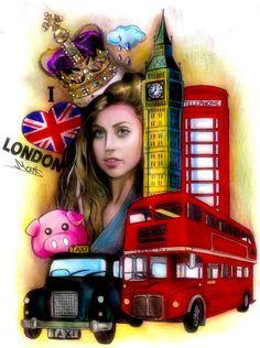 Gaga in London itunesfest sketch