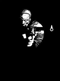 Frank Miller: The Art of Sin City TPB - Read Frank Miller: The Art of Sin City TPB comic online in high quality Frank Miller Sin City, Frank Miller Art, Frank Miller Comics, Sin City Comic, Green Lantern Comics, Comics Love, Comic Book Artists, Comic Books, City Illustration