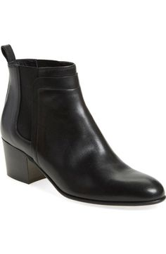 Vince 'Hallie' Round Toe Bootie (Women) available at #Nordstrom  color:  limestone suede is probably younger choice