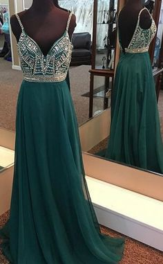green prom dress,long evening gowns,sexy prom dress, v #prom #promdress #dress #eveningdress #evening #fashion #love #shopping #art #dress #women #mermaid #SEXY #SexyGirl #PromDresse