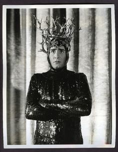 Victor Jory as Oberon in Max Reinhardt's A Midsummer Night's Dream 1935