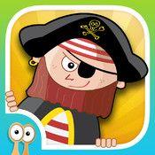 Happi & the Pirates - öva språk & logiskt tänkande (åk 1-4)
