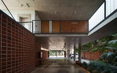 Located inAsuncion, the project consists of an apartment building of three floors.