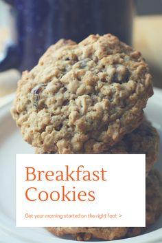 Breakfast Cookies Recipe << CountDownsAndCupcakes