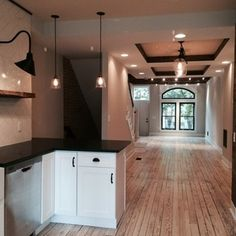 Baltimore Row House Kitchen Renovation | Baltimore Renovations ...