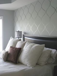 First Chop Wallpapered Bedroom Ideas