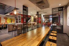 KFC restaurant by CBTE MIMARLIK, Turkey » Retail Design Blog