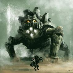 Shadow of the Colossus: ArtStation - Colossus 9 - Basaran, Daniel Aubert Dark Fantasy, Fantasy Art, Video Game Art, Marvel, Community Art, Cool Artwork, Lovers Art, Concept Art, Art Photography