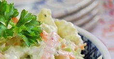 Lubię taką surówkę podawać do mięs w sosie. Jest bardzo smaczna i zdrowa. W okresie jesieni i zimy pomoże zwalczyć paskudne wirusy :) ... Polish Food, Polish Recipes, Easy Entertaining, Potato Salad, Grilling, Recipies, Food And Drink, Potatoes, Cooking Recipes