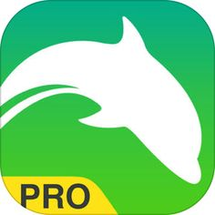 Dolphin Browser Pro – Fast Internet Download, with Secure Search & Powerful Adblock Extension by MoboTap Inc.