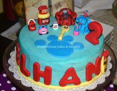 Blues Clues, Homemade Desserts, Baby Shower Cakes, Birthday Cakes, Birthdays, Sugar, Facebook, Kids, Recipes