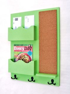 Mail Organizer  Mail Holder  Letter Holder  Mail by LegacyStudio, $89.95