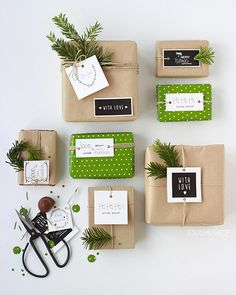 Christmas gift tags from Jesussauvage