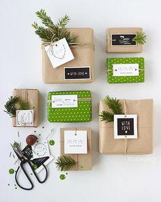 24 ideas para envolver tus regalos estas Navidades