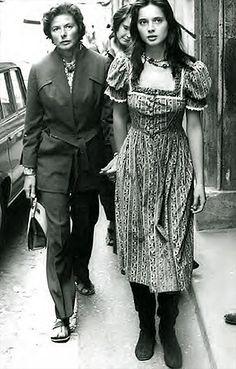 Ingrid Bergman + Isabella Rosselini