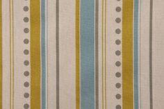Premier Prints Brook Printed Cotton Drapery Fabric in Summerland/Natural $7.48 per yard