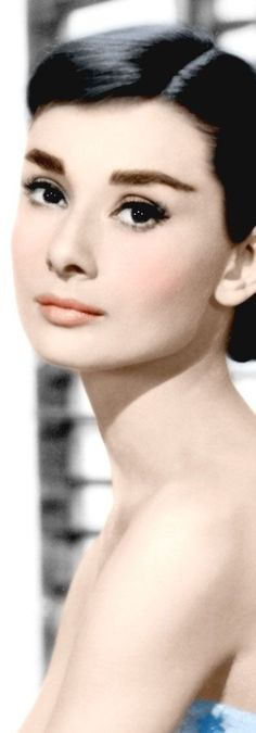 Audrey Hepburn. She had depth in those eyes. What a talent, and a caring soul.