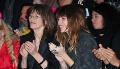Jane Birkin & Lou Doillon Lou Doillon, Jane Birkin, Mother And Child, Children, Hair, Fashion, Mother Son, Young Children, Moda