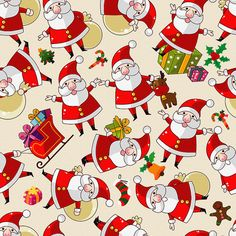 Find Seamless Christmas Pattern stock images in HD and millions of other royalty-free stock photos, illustrations and vectors in the Shutterstock collection. Thousands of new, high-quality pictures added every day. Noel Christmas, Christmas Paper, Christmas Wrapping, Christmas And New Year, Vintage Christmas, Christmas Cards, Xmas, Christmas Vinyl, Christmas Fireplace