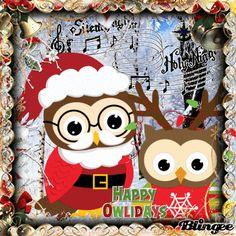 Happy Owlidays