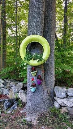 Tires for planters