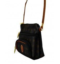 Lille fiks taske fra Kenzia med lang tynd rem - 5263