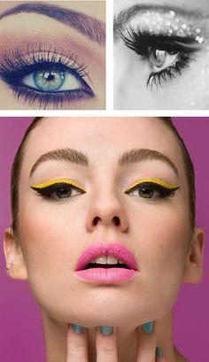 maquiagem colorida  Makeup