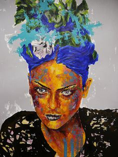 "Bazevian on Twitter: ""https://t.co/j9Gkef1WC9 PS 19 or Frida Kahlo #artoftheday #artlovers #artist #artwork #bazevian #oilpainting #fridakahlo #fb.com/bazevian https://t.co/wRuwGHePHz""♥♥"