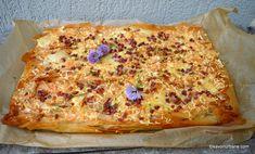cea mai buna placinta cu pui ciuperci smantana Quiche, Bacon, Food And Drink, Pizza, Cheese, Cooking, Mariana, Food, Pie