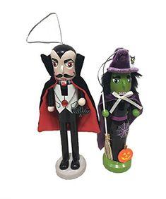 Halloween Scene, Halloween Trees, Halloween Festival, Happy Halloween, Nutcracker Ornaments, Halloween Ornaments, Christmas Ornaments, Santas Workshop, Minnie Mouse