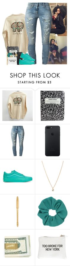 """""""🐘"""" by mxnvt ❤ liked on Polyvore featuring Kate Spade, Faith Connexion, Vans, Forever 21, Louis Vuitton, Topshop and Wet Seal"""
