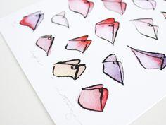 Victoria-Riza Fashion Illustration // Art Prints available at victoriariza.com