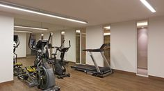 Stationary, Gym Equipment, World, Group, Buildings, Workout Equipment