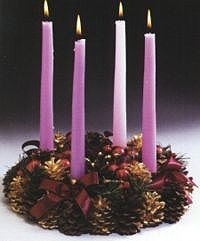 ~* The Advent Wreath -- How to make one; Blessing for an Advent Wreath; more activities Christmas And New Year, Winter Christmas, All Things Christmas, Christmas Time, Christmas Wreaths, Christmas Decorations, Christmas Ideas, Xmas, Advent Wreath Candles